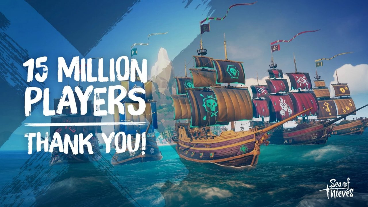 Аудитория Sea of Thieves превысила 15 миллионов, в Steam продано более 1 миллиона копий