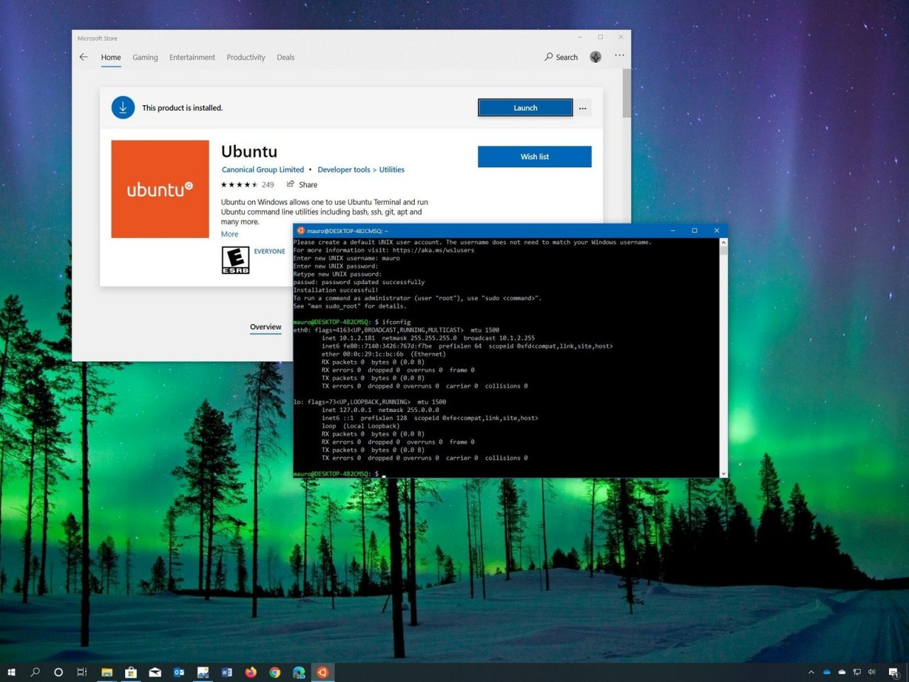 Windows Subsystem for Linux 2 (WSL 2) теперь доступен для Windows 10 версий 1903 и 1909
