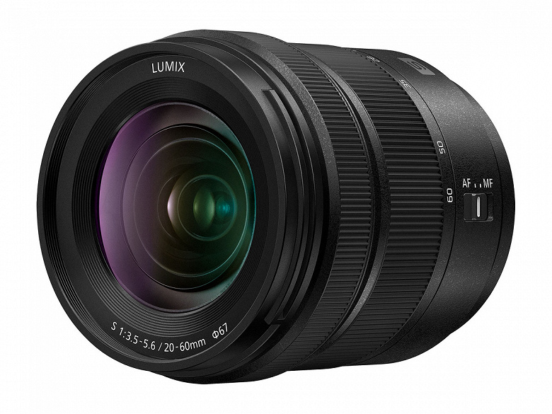 Представлен объектив Panasonic Lumix S 20-60mm F3.5-5.6 (S-R2060) с креплением L